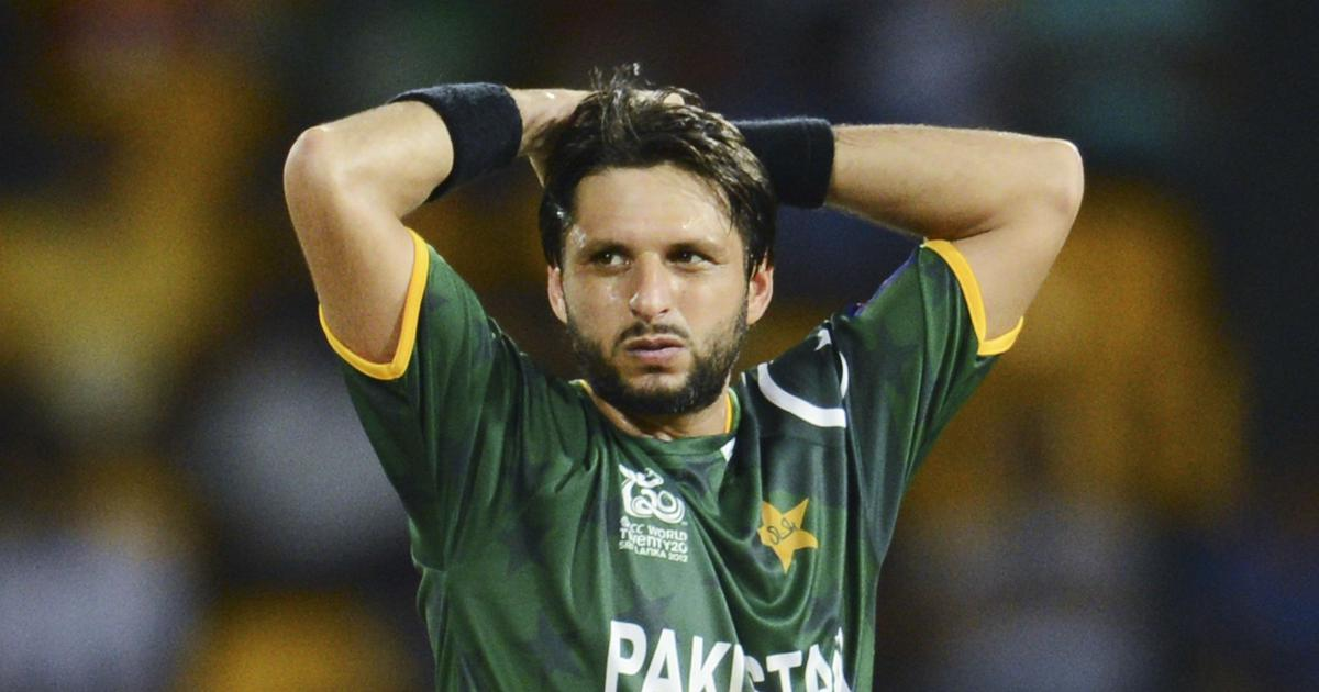Living In The Age Of Shahid Afridi