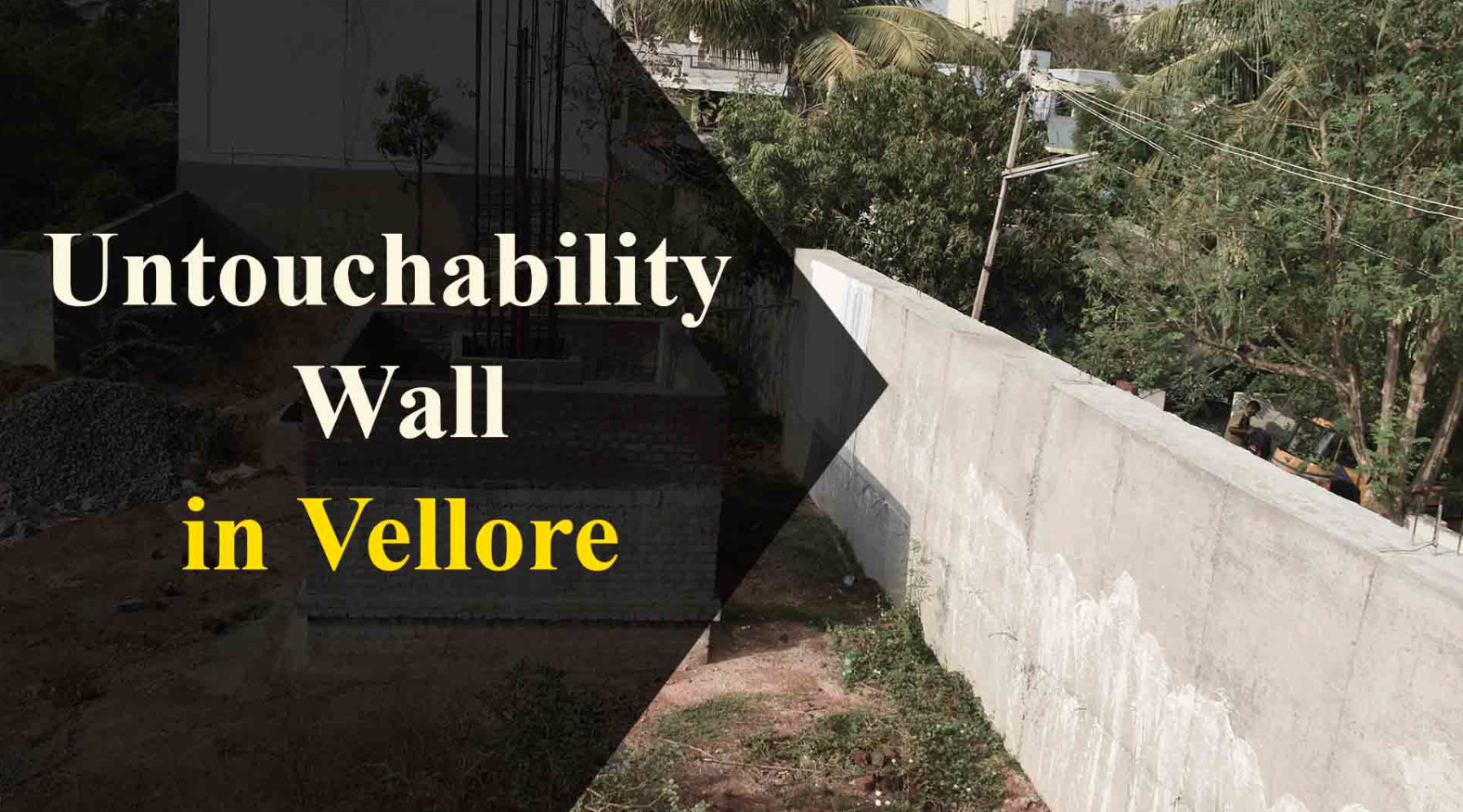 'Untouchability Wall' in TN