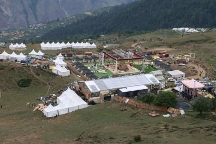 Auli Uttarakhand Gupta Wedding Waste