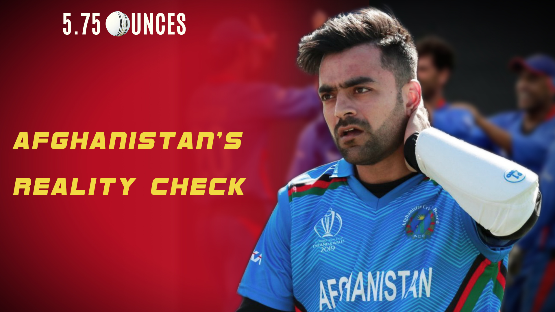 Afghanistan cricket team at the ICC World Cup 2019