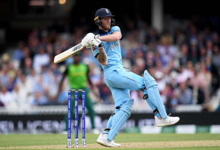 Engand cricket team's Ben Stokes at the ICC Cricket World Cup 2019