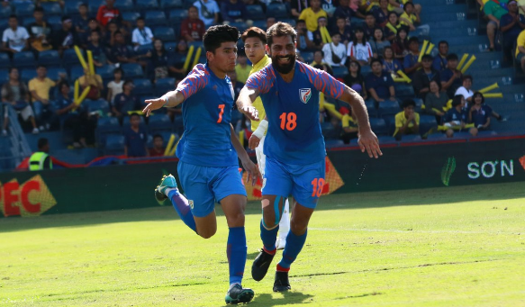 Indian football team's next outing will be at the Intercontinental Cup in Ahmedabad next month.