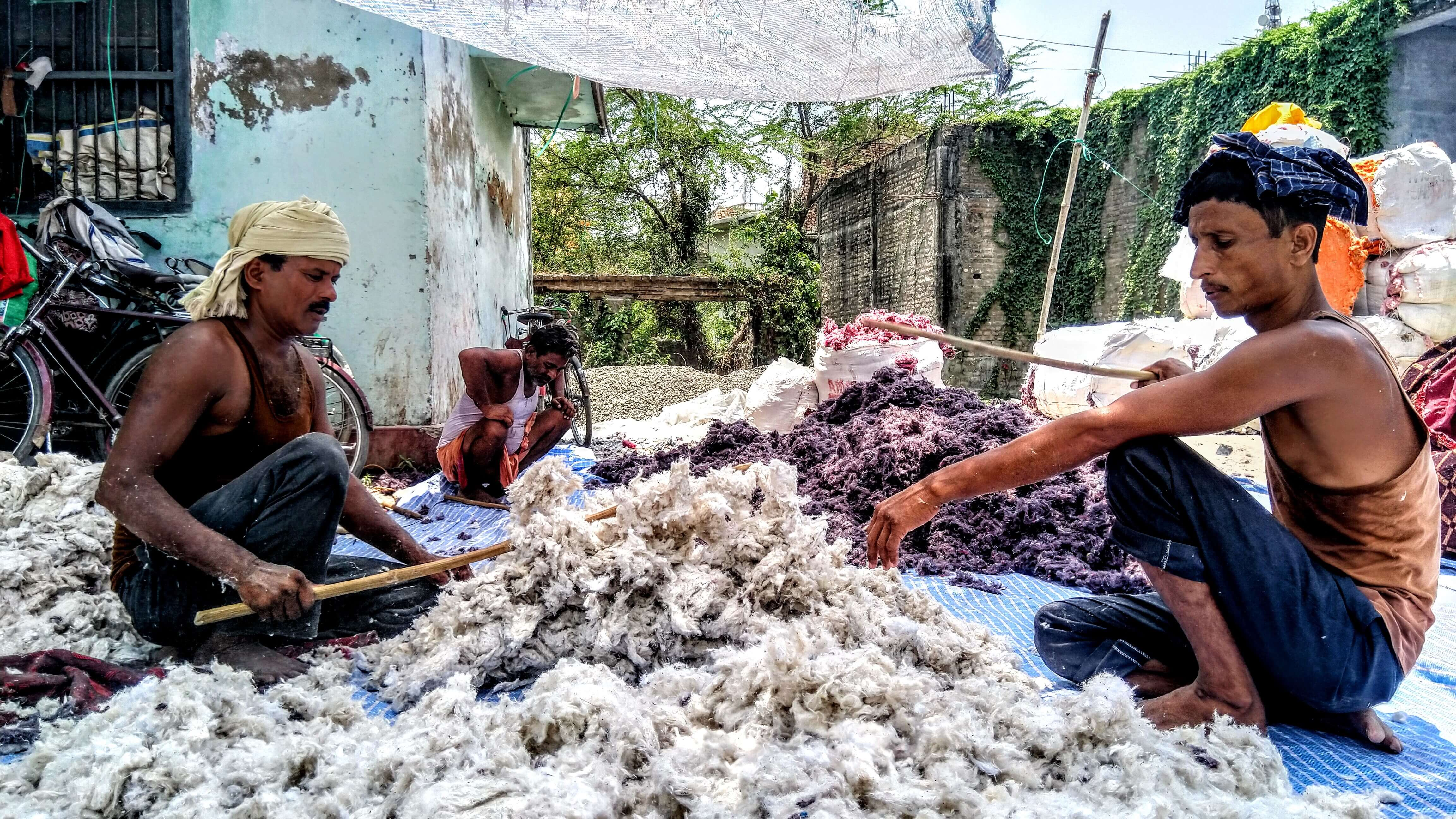 Muslim Dhunias: Carding Cotton for 6 Months, Starving for the Rest