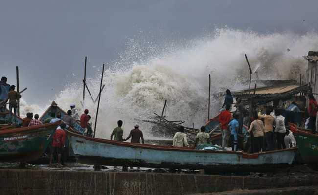 "Cyclone ""Vayu"" Weakens"