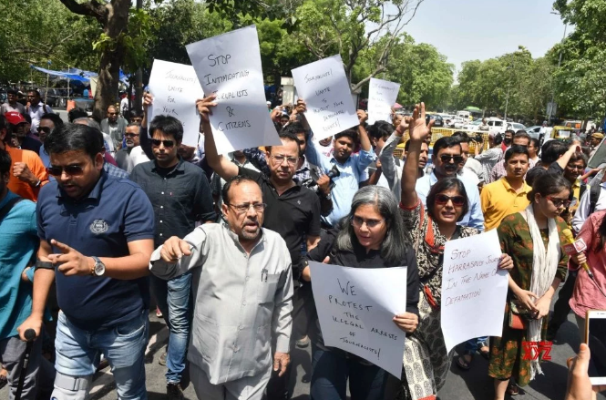 Arrest of Prashant Kanojia Attack on Freedom of Expression, Say Journalists