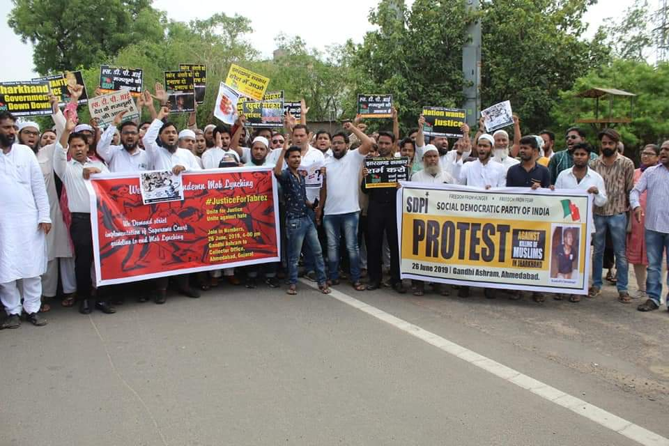 Jharkhand Lynching Protests Gujarat