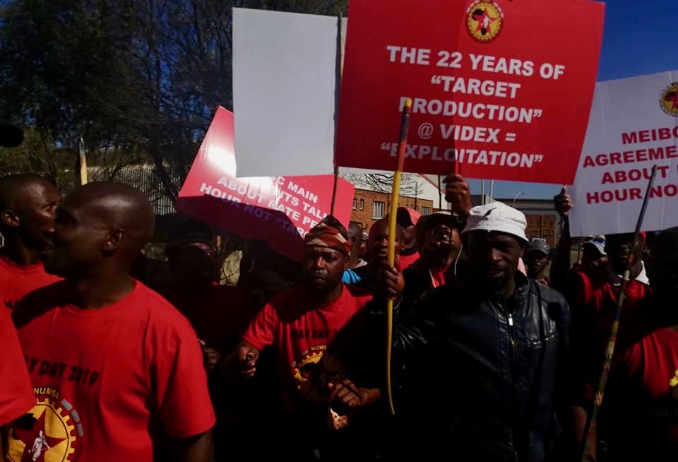 South Africa Mining Workers Strike Videx