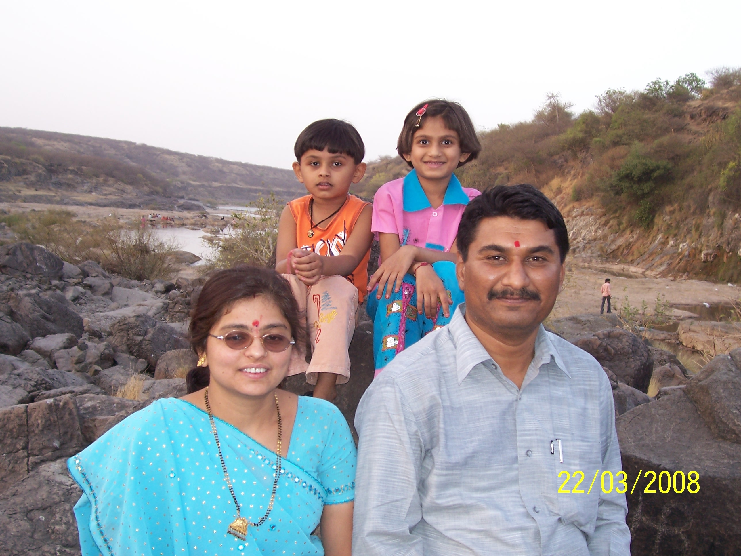 Amit Jethwa with family