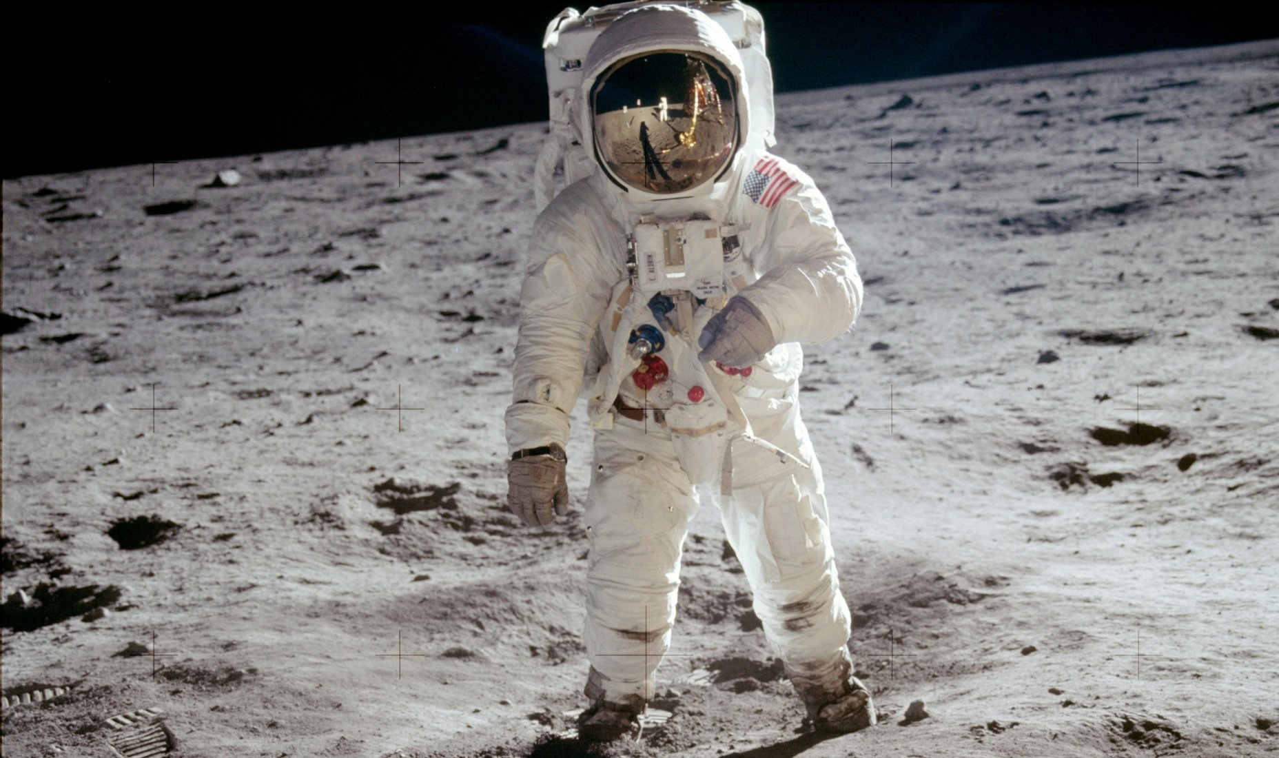 First Human Landing on Moon