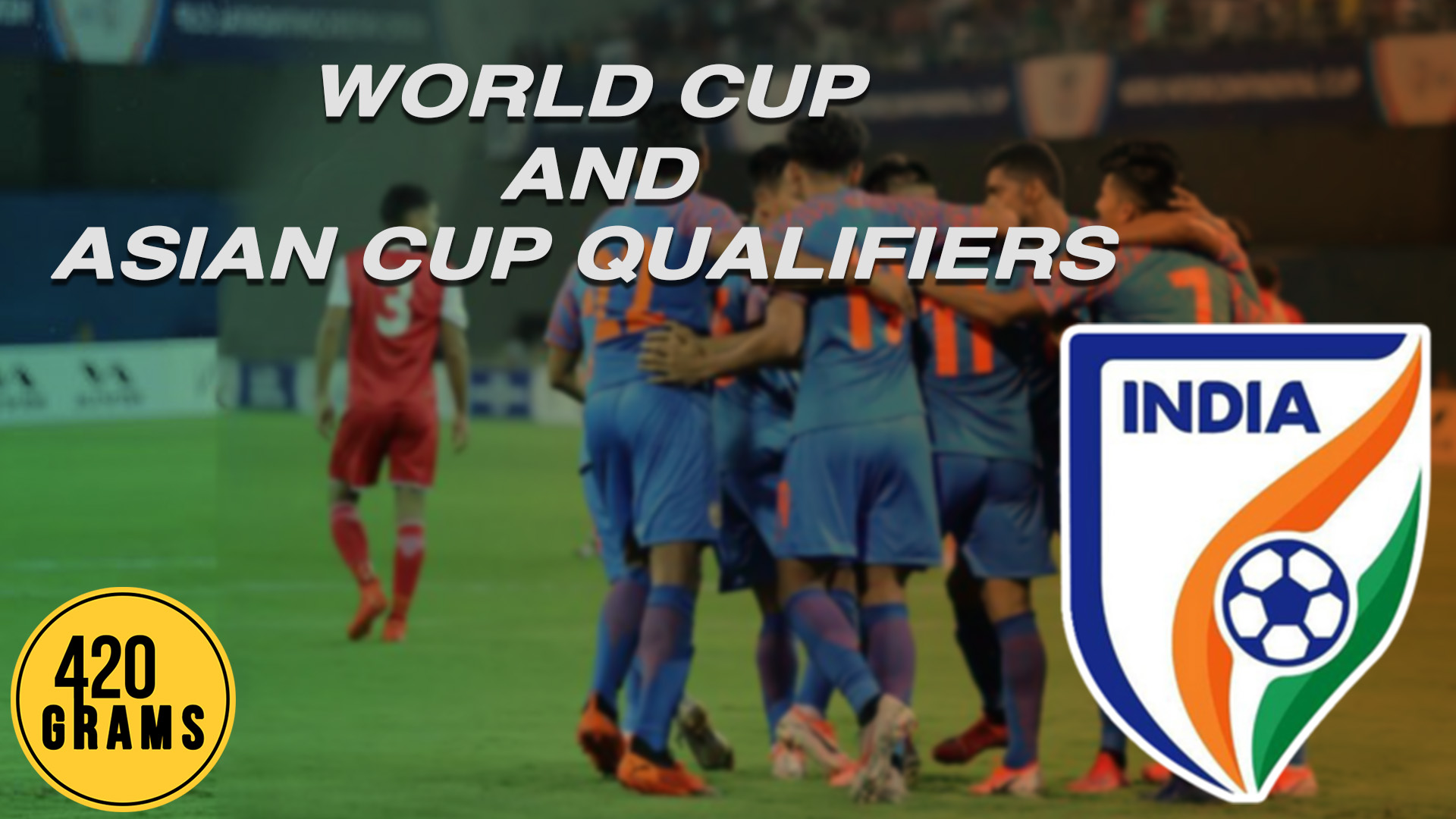 Indian football team's fixture for the FIFA World Cup 2022 qualifiers