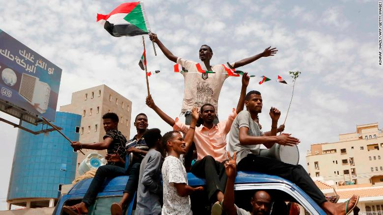 Sudan protest reach agreement