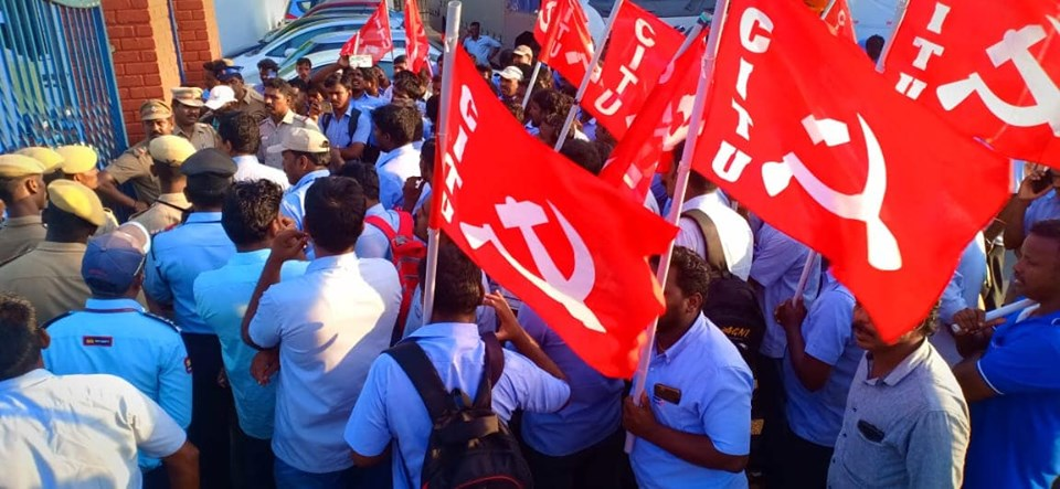 TN: Chowel and Dongsun Workers Arrested Over Protest, Struggle Continues