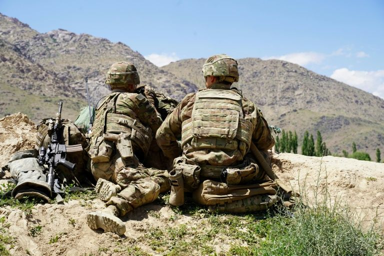 US soldiers like these deployed to Afghanistan have been in the landlocked mountainous country since late 2001