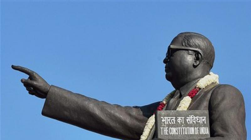 Ambedkar Statue Vandalised in Tamil Nadu