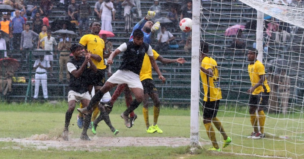 Mohammedan Sporting vs Aryan Club Calcutta Football League match