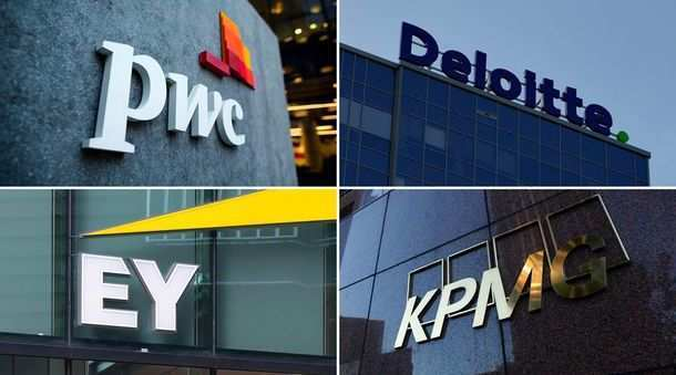 Big four audit companies in crisis.