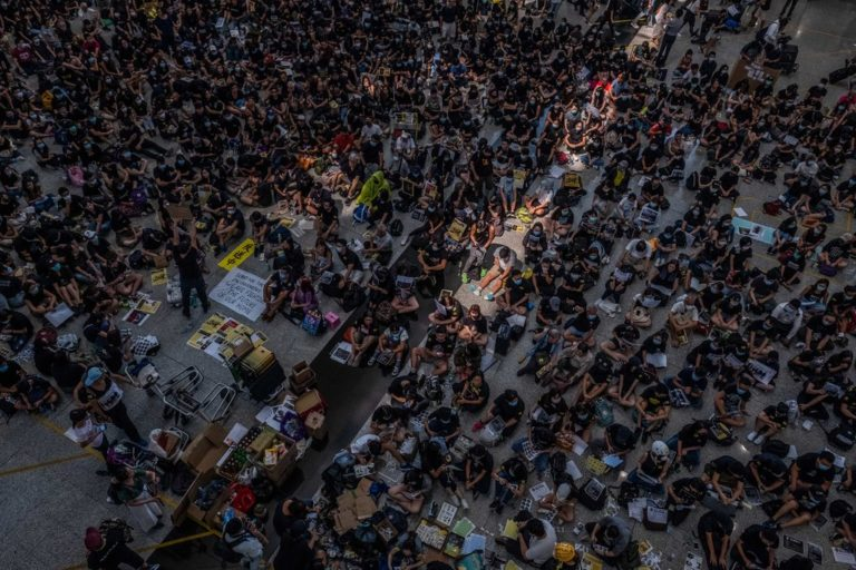 US involvement in Hong Kong Protest