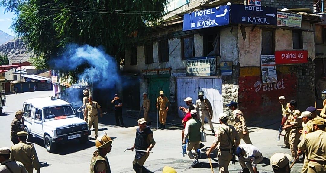 Kargil on Boil: Protests Break Out, Section 144 Imposed | NewsClick