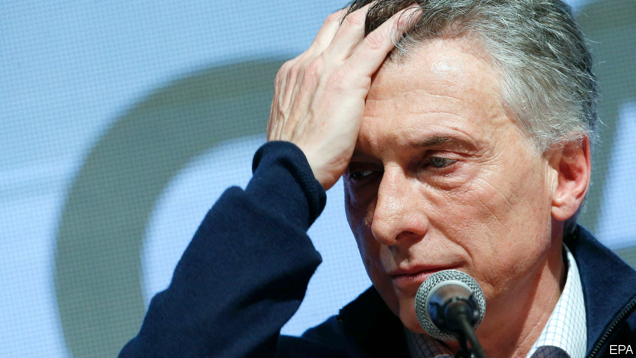The economic policies of Mauricio Macri's government are to blame for the current economic crisis in Argentina.