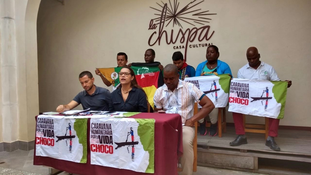 Spokespersons of the regional, national and international organizations participating in the caravan spoke in a press conference on Monday August 5.