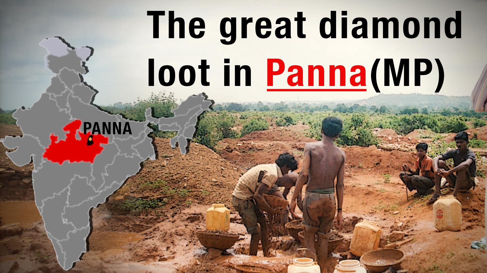 Diamond Mining in Panna