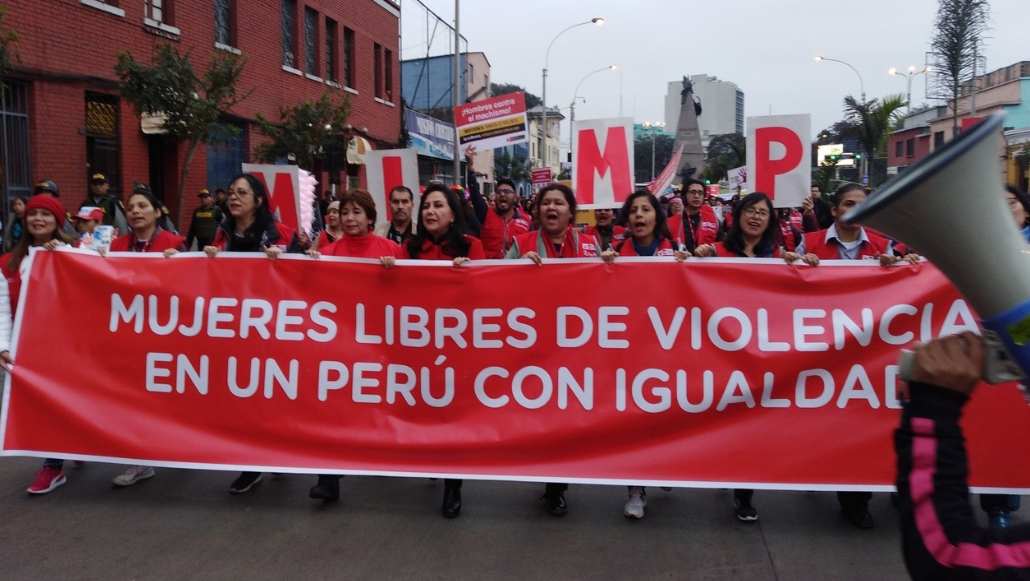 Peruvian Feminists Demand