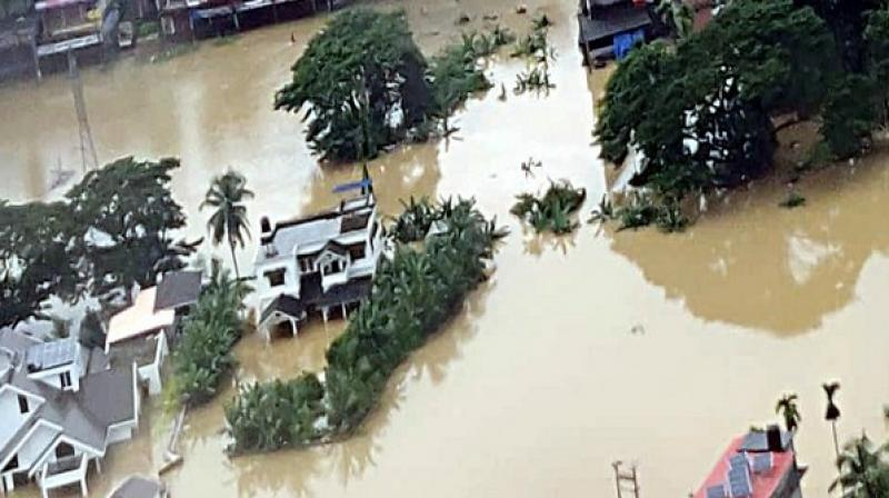 Kerala Floods 2019: 121 dead, 1,789 Houses Collapsed