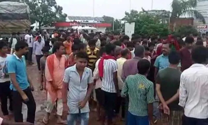 Bajrang Dal Members Attack Protest
