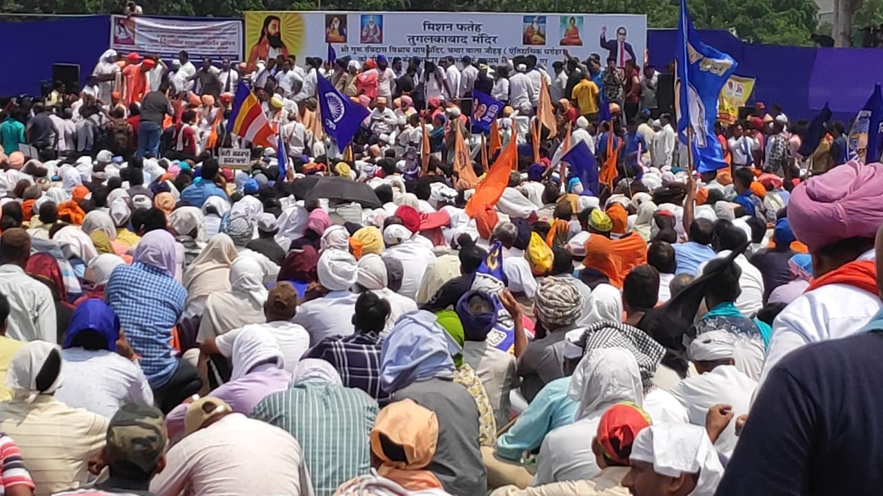 Thousands of Dalits Hit Delhi Streets