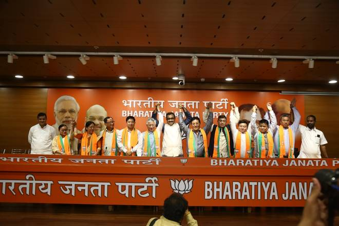 SDF MLAs Join BJP