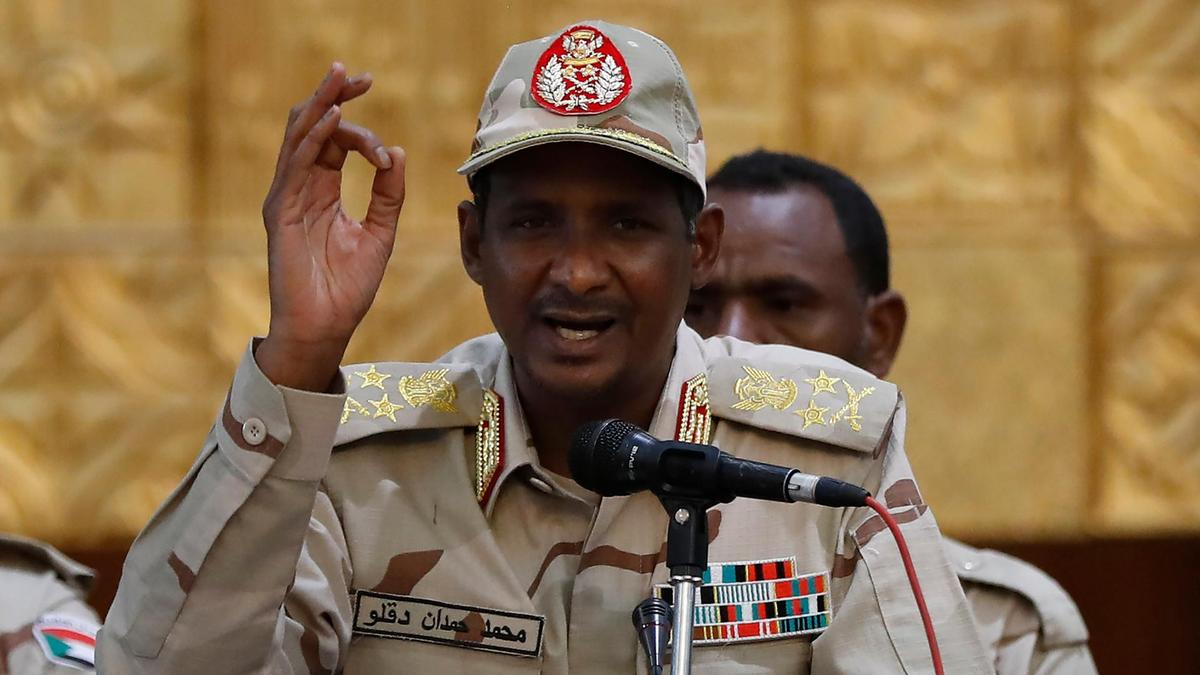 Mohamed Hamdan Dagalo, the vice-president of the Military Junta and the head of the Rapid Support Forces militia was selected to sit in the sovereignty council.