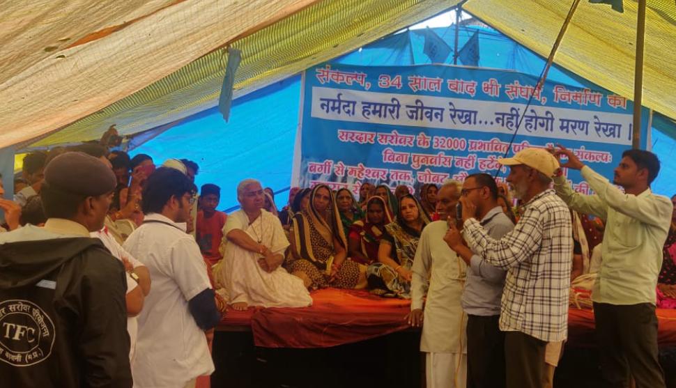 Narmada Bachao Andolan: Indefinite Satyagraha Enters Day 4 – NewsClick – 28.8.19