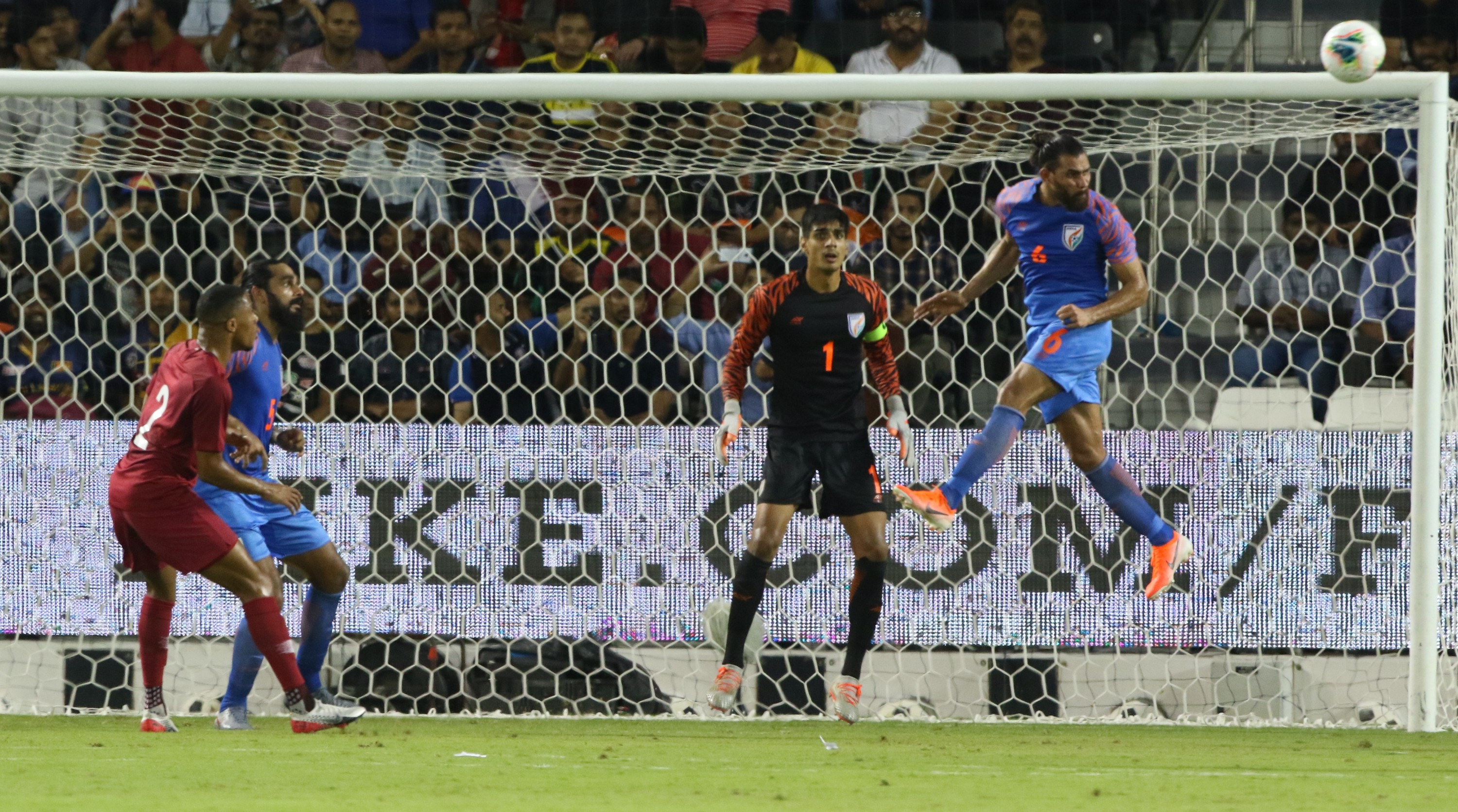 Indian football team´s FIFA World Cup qualifying campaign