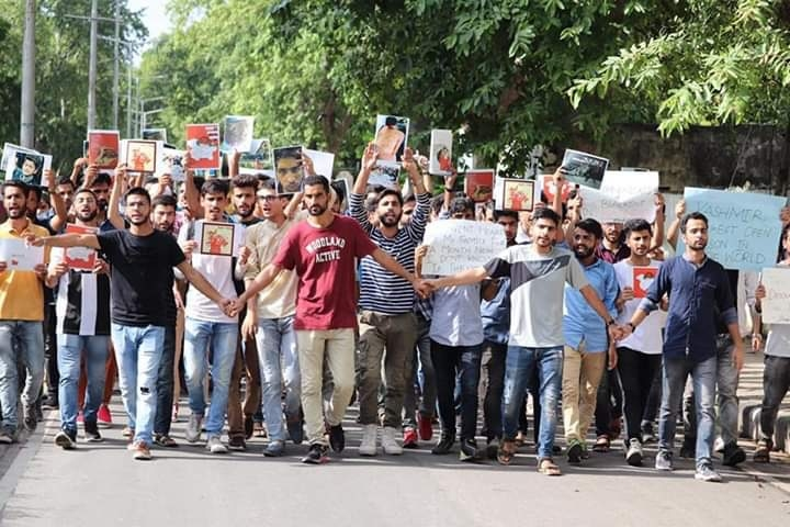 Kashmiri Students Served Show-Cause Notices