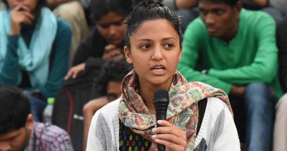 Shehla Rashid Booked for Sedition Over Tweets on Kashmir