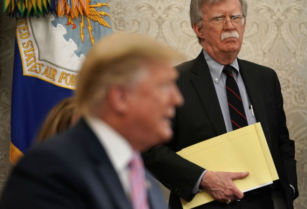 Trump and John Bolton