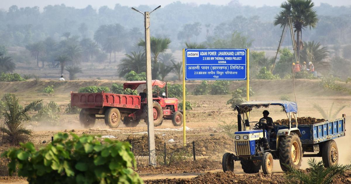 Jharkhand: Construction Begins in Adani's Godda Plant, Villagers Dejected
