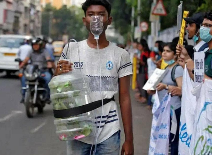 Youth Across India Take Part in Climate Change Protests