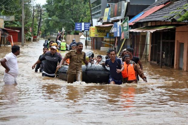 While Karnataka is yet to get flood relief fund, Kerala's demand for free rice has been rejected.