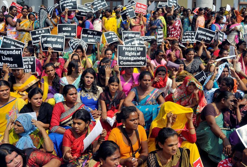 Transgender Communities in Karnataka Protest Against BJP Minister Slur