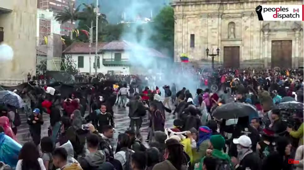 Colombian Students Take to the Streets Against Police Repression