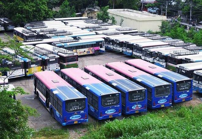 TSRTC Workers' Strike