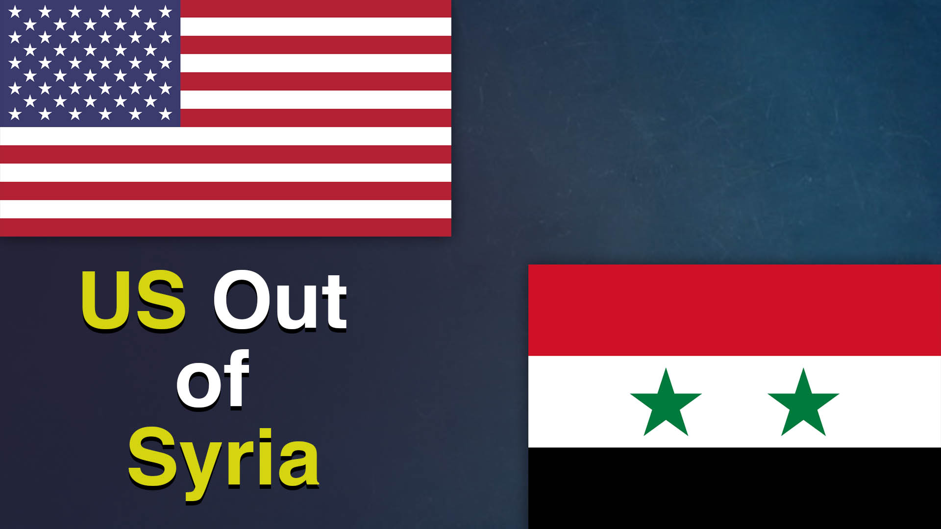 USA Out of Syria