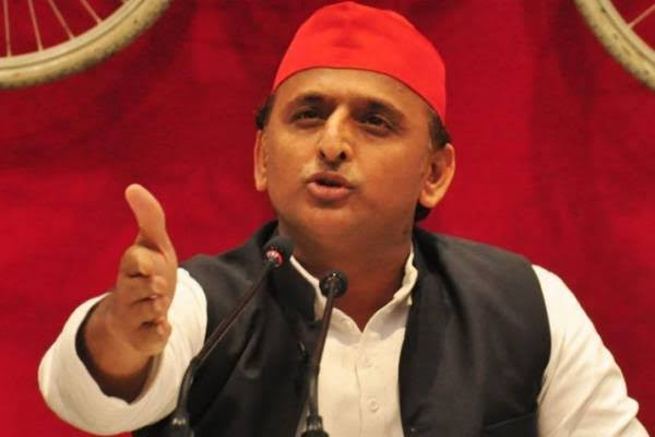 There is 'Nathuram (Godse) Raj' in Uttar Pradesh: Akhilesh Yadav