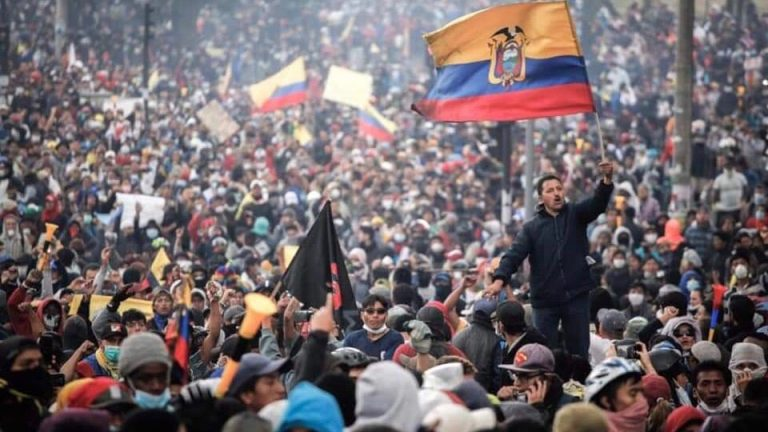 For the past 9 days, thousands of Ecuadorians have been mobilizing against the neoliberal economic measures announced by the government of Lenín Moreno.
