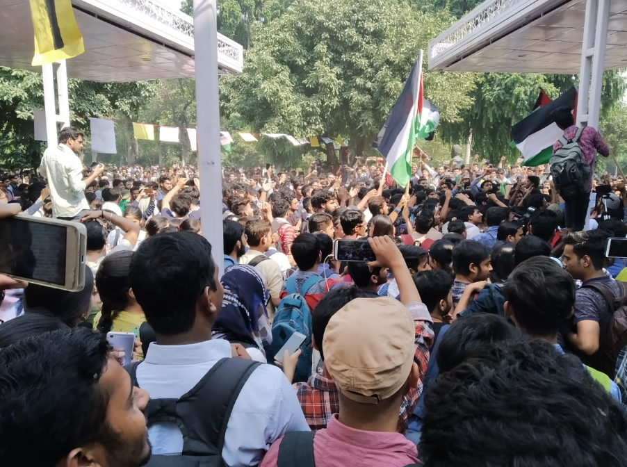 Student Strike Swells at Jamia