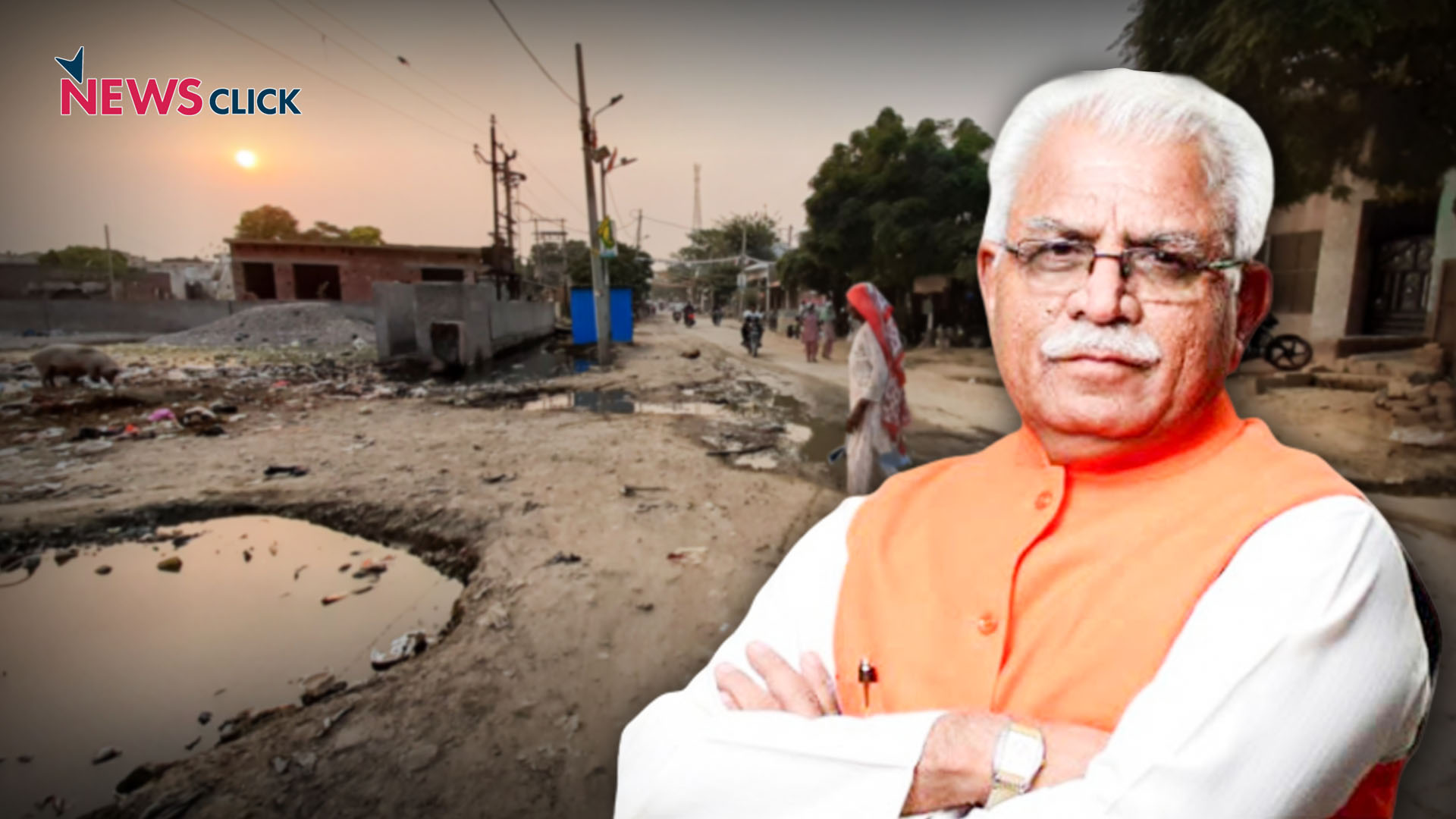 Haryana Polls: CM Manohar Lal Khattar's Adopted Village Waiting to Become 'Adarsh Gram'