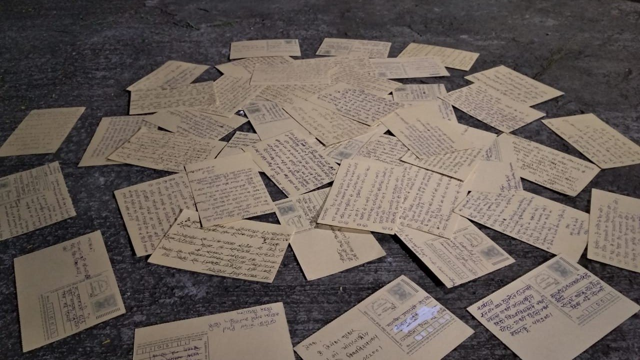 Letters sent by students in Wardha
