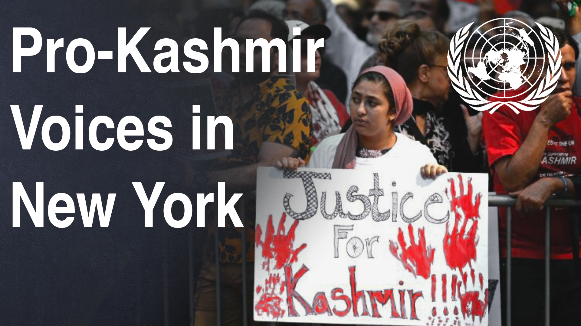 Pro-Kashmir Voices in New York