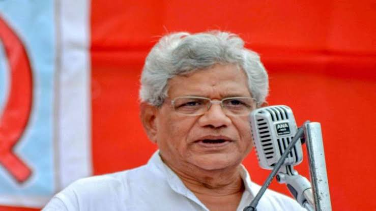 BJP Govt's 'Crony Capitalism' Causing Economic Crisis: Yechury